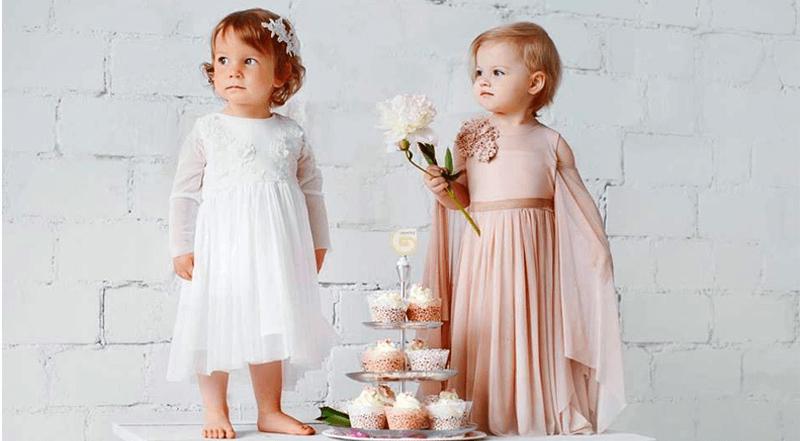 Krikšto suknelės mergaitėms