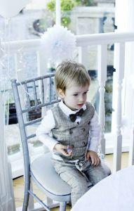 Lininis krikšto kostiumėlis berniukui